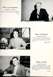 Page 15, 1954 Edition, Mansfield University - Carontawan Yearbook (Mansfield, PA) online yearbook collection