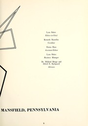 Page 9, 1965 Edition, Mansfield University - Carontawan Yearbook (Mansfield, PA) online yearbook collection