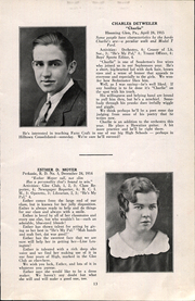 Page 15, 1932 Edition, Hilltown High School - Echo Yearbook (Hilltown, PA) online yearbook collection
