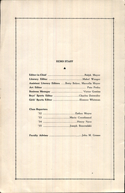 Page 4, 1932 Edition, Hilltown High School - Echo Yearbook (Hilltown, PA) online yearbook collection