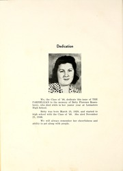 Page 8, 1948 Edition, Lemasters High School - Parnellian Yearbook (Lemasters, PA) online yearbook collection