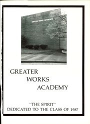Page 5, 1987 Edition, Greater Works Academy - Spirit Yearbook (Monroeville, PA) online yearbook collection