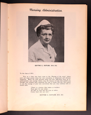 Page 13, 1951 Edition, Lancaster General Hospital Nursing - Nightingale Yearbook (Lancaster, PA) online yearbook collection