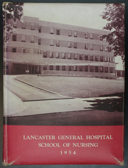 1954 Edition, Lancaster General Hospital Nursing - Nightingale Yearbook (Lancaster, PA)