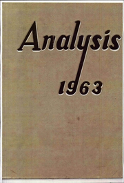 Page 1, 1963 Edition, Philadelphia University - Analysis Yearbook (Philadelphia, PA) online yearbook collection