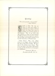 Page 16, 1924 Edition, U Of Penn Women Student Govt - Record Book Yearbook (Philadelphia, PA) online yearbook collection