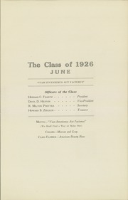 Page 11, 1926 Edition, Boys High School - Epitome Yearbook (Reading, PA) online yearbook collection