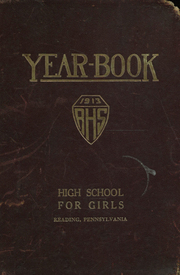 Page 1, 1913 Edition, Girls High School - Yearbook (Reading, PA) online yearbook collection