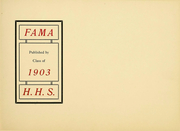 Page 4, 1903 Edition, Harrisburg Central High School - Yearbook (Harrisburg, PA) online yearbook collection