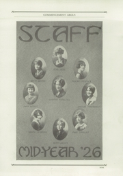 Page 13, 1926 Edition, Harrisburg Central High School - Yearbook (Harrisburg, PA) online yearbook collection