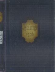 Lafayette College - Melange Yearbook (Easton, PA) online yearbook collection, 1926 Edition, Page 1