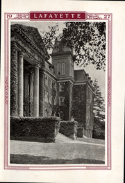 Page 16, 1927 Edition, Lafayette College - Melange Yearbook (Easton, PA) online yearbook collection