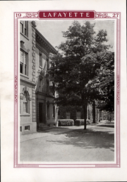 Page 17, 1927 Edition, Lafayette College - Melange Yearbook (Easton, PA) online yearbook collection