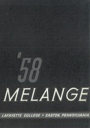 Page 1, 1958 Edition, Lafayette College - Melange Yearbook (Easton, PA) online yearbook collection