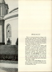 Page 13, 1958 Edition, Lafayette College - Melange Yearbook (Easton, PA) online yearbook collection