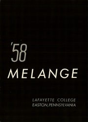 Page 6, 1958 Edition, Lafayette College - Melange Yearbook (Easton, PA) online yearbook collection