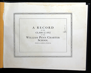 Page 5, 1912 Edition, William Penn Charter School - Class Record Yearbook (Philadelphia, PA) online yearbook collection