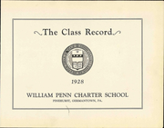 Page 9, 1928 Edition, William Penn Charter School - Class Record Yearbook (Philadelphia, PA) online yearbook collection