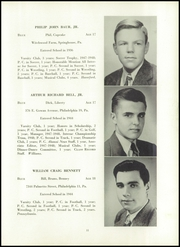 Page 15, 1948 Edition, William Penn Charter School - Class Record Yearbook (Philadelphia, PA) online yearbook collection