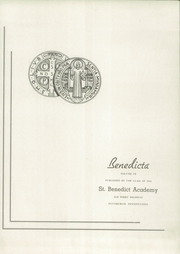 Page 5, 1944 Edition, Saint Benedicts Academy - Benedicta Yearbook (Pittsburgh, PA) online yearbook collection