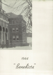 Page 7, 1944 Edition, Saint Benedicts Academy - Benedicta Yearbook (Pittsburgh, PA) online yearbook collection