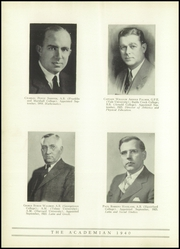Page 16, 1940 Edition, Shady Side Academy - Academian Yearbook (Pittsburgh, PA) online yearbook collection