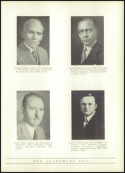 Page 17, 1940 Edition, Shady Side Academy - Academian Yearbook (Pittsburgh, PA) online yearbook collection