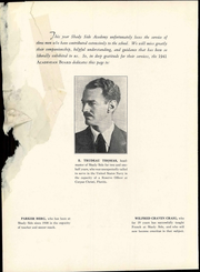 Page 14, 1941 Edition, Shady Side Academy - Academian Yearbook (Pittsburgh, PA) online yearbook collection