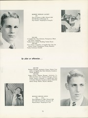 Page 81, 1954 Edition, Shady Side Academy - Academian Yearbook (Pittsburgh, PA) online yearbook collection