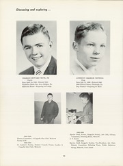 Page 82, 1954 Edition, Shady Side Academy - Academian Yearbook (Pittsburgh, PA) online yearbook collection