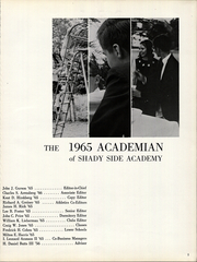 Page 5, 1965 Edition, Shady Side Academy - Academian Yearbook (Pittsburgh, PA) online yearbook collection