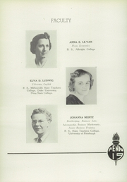 Page 16, 1939 Edition, Mount Penn Lower Alsace Joint High School - Penn Alma Yearbook (Reading, PA) online yearbook collection