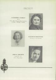 Page 17, 1939 Edition, Mount Penn Lower Alsace Joint High School - Penn Alma Yearbook (Reading, PA) online yearbook collection