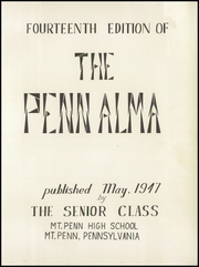 Page 5, 1947 Edition, Mount Penn Lower Alsace Joint High School - Penn Alma Yearbook (Reading, PA) online yearbook collection