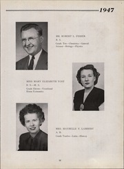Page 15, 1947 Edition, Sinking Spring High School - Imago Yearbook (Sinking Spring, PA) online yearbook collection