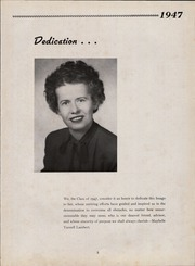 Page 7, 1947 Edition, Sinking Spring High School - Imago Yearbook (Sinking Spring, PA) online yearbook collection