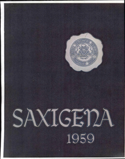 Page 1, 1959 Edition, Slippery Rock University - Saxigena Yearbook (Slippery Rock, PA) online yearbook collection