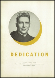 Page 12, 1949 Edition, Saint Vincent College Preparatory School - Chimes Yearbook (Latrobe, PA) online yearbook collection