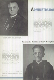 Page 16, 1951 Edition, Saint Vincent College Preparatory School - Chimes Yearbook (Latrobe, PA) online yearbook collection