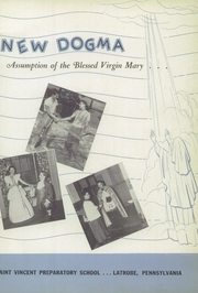 Page 7, 1951 Edition, Saint Vincent College Preparatory School - Chimes Yearbook (Latrobe, PA) online yearbook collection