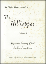 Page 5, 1949 Edition, Sugarcreek Township School - Hilltopper Yearbook (Franklin, PA) online yearbook collection