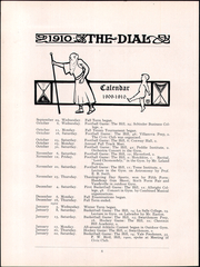 Page 12, 1910 Edition, The Hill School - Dial Yearbook (Pottstown, PA) online yearbook collection