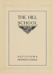 Page 3, 1920 Edition, The Hill School - Dial Yearbook (Pottstown, PA) online yearbook collection