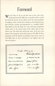 Page 11, 1946 Edition, The Hill School - Dial Yearbook (Pottstown, PA) online yearbook collection