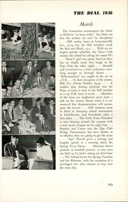 Page 221, 1946 Edition, The Hill School - Dial Yearbook (Pottstown, PA) online yearbook collection