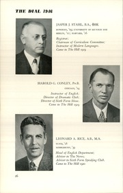 Page 28, 1946 Edition, The Hill School - Dial Yearbook (Pottstown, PA) online yearbook collection