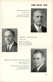 Page 29, 1946 Edition, The Hill School - Dial Yearbook (Pottstown, PA) online yearbook collection
