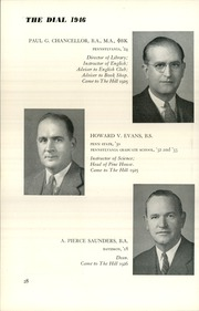 Page 30, 1946 Edition, The Hill School - Dial Yearbook (Pottstown, PA) online yearbook collection