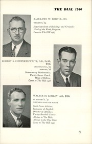 Page 31, 1946 Edition, The Hill School - Dial Yearbook (Pottstown, PA) online yearbook collection