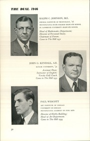 Page 32, 1946 Edition, The Hill School - Dial Yearbook (Pottstown, PA) online yearbook collection